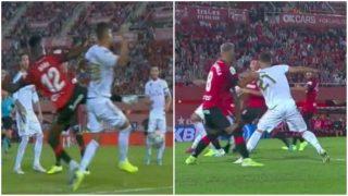Los penaltis no señalados de los que se queja el Madrid.