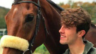 Odriozola es un gran amante de los caballos. (Instagram)