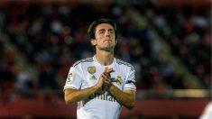 Odriozola se lamenta durante el Mallorca – Real Madrid. (EFE)