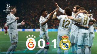 El Real Madrid venció 0-1 al Galatasaray.