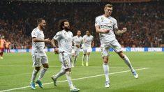 Kroos celebra el gol contra el Galatasaray. (AFP)