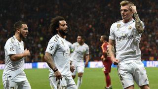 El Real Madrid consiguió un importante victoria en Estambul. (AFP)