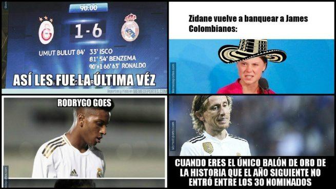 memes Galatasaray Real Madrid