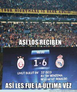 Los mejores memes del Galatasaray – Real Madrid