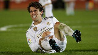 Odriozola, durante un partido. (AFP)