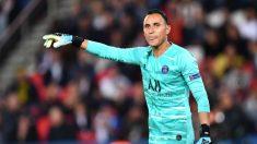 Keylor Navas, durante un partido con el Paris Saint Germain. (Getty)