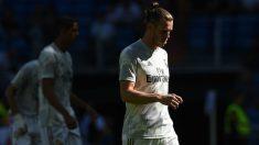 Gareth Bale, cabizbajo, durante un partido con el Real Madrid. (Getty)