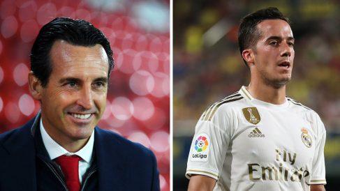 Emery había pedido el fichaje de Lucas Vázquez.