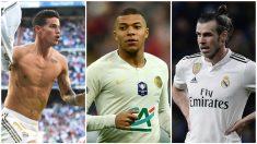 James y Bale podrían financiar el fichaje de Mbappé por el Madrid.