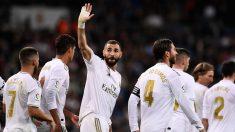 Benzema lidera el ataque del Real Madrid esta temporada (AFP).