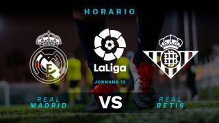 Liga Santander 2019-2020: Real Madrid – Betis | Horario del partido de fútbol de Liga Santander.