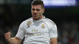 Jovic se estrenó con la camiseta del Real Madrid ante el Leganés. (Getty)