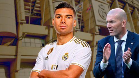 Casemiro será titular en Mestalla pese a estar apercibido.