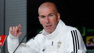 Zidane, en rueda de prensa (EFE).