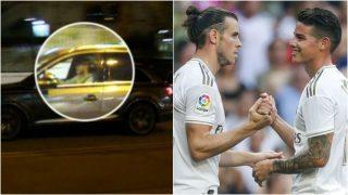 Bale saliendo del Bernabéu en una imagen de archivo.