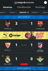 La aplicación oficial de la Liga dio validez al gol de Hazard… ¡hasta el descanso!
