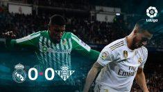 El Real Madrid no fue capaz de ganar al Betis en el Bernabéu.