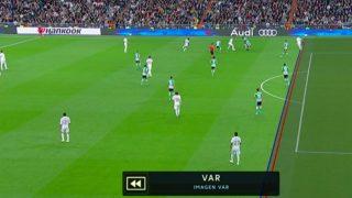 El gol anulado a Hazard por fuera de juego.