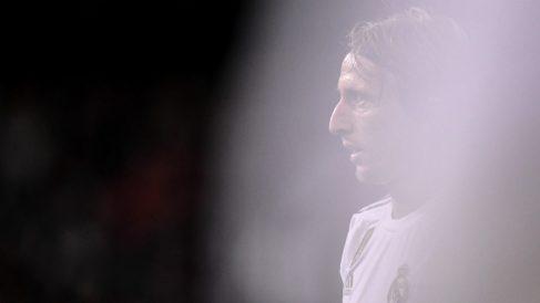 Modric está lejos de su mejor nivel. (AFP)