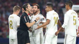 El Real Madrid tiene motivos para quejarse de los árbitros y el VAR. (Getty)