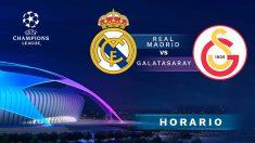 Champions League: Real Madrid – Galatasaray | Horario del partido de fútbol de Champions League.