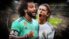 El Madrid abrirá la puerta a Modric y Marcelo.