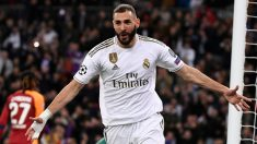 Karim Benzema ya ha igualado a Di Stefano. (AFP)