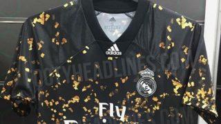 Así es la nueva camiseta del Real Madrid para celebrar el Año Nuevo chino. (Foto: Footyheadlines.com)
