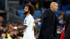 Marcelo, en un partido con el Real Madrid. (Getty)