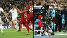Así fue el penalti de Kroos que señaló el VAR.