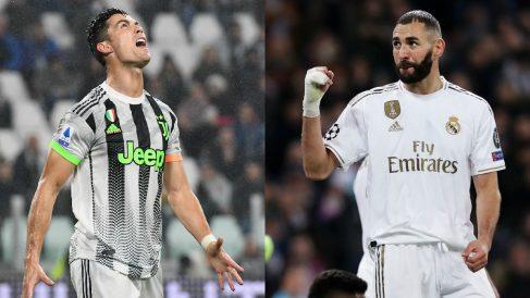Benzema supera los registros de Cristiano Ronaldo desde la marcha del portugués a la Juventus (Getty).