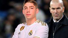 Fede Valverde ya es intocable para Zidane.