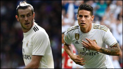 James Rodríguez y Gareth Bale.