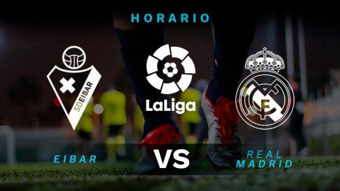 Liga Santander 2019-2020: Eibar – Real Madrid | Horario del partido de fútbol de Liga Santander.