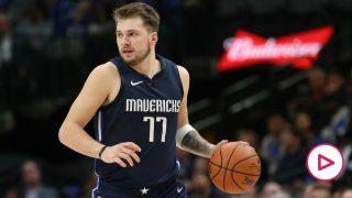 Luka Doncic sigue maravillando en la NBA.