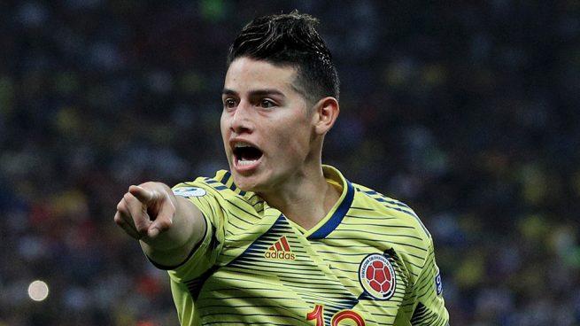 Lo que faltaba: James se lesiona la rodilla con Colombia
