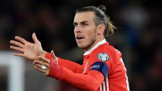 Gareth Bale durante un partido con Gales. (Getty)
