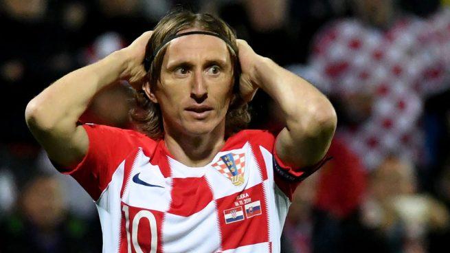 Guiño de Modric al Madrid: se vuelve de Croacia antes de tiempo