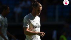 Gareth Bale durante un partido con el Real Madrid.
