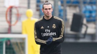 Gareth Bale durante un entrenamiento con el Real Madrid. (realmadrid.com)