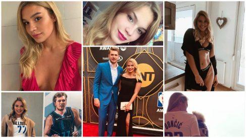 La novia de Luka Doncic tiene enamoradas a las redes sociales.