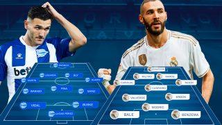 Alavés y Real Madrid se enfrentan en Mendizorroza.