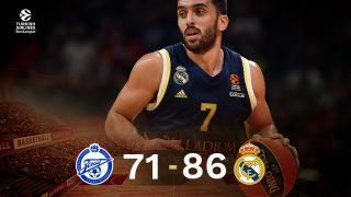 El Real Madrid venció al Zenit en Euroliga.