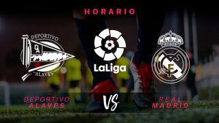 Liga Santander: Alavés – Real Madrid | Horario del partido de fútbol hoy de Liga Santander.