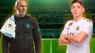 El vestuario del Madrid pidió a Zidane poner a Valverde.