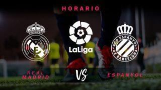 Liga Santander 2019-20: Real Madrid – Espanyol   Horario del partido de fútbol de Liga Santander.
