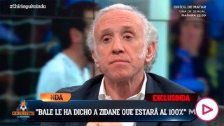 Inda desveló la conversación entre Zidane y Bale.
