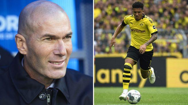 El guiño de Zidane a Sancho: le votó como el mejor joven por delante de Vinicius