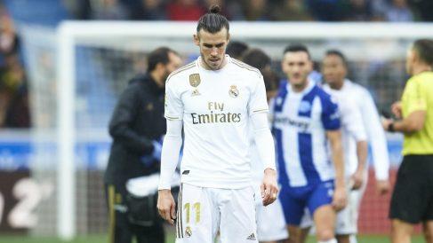 Gareth Bale, en un partido con el Real Madrid. (Getty)
