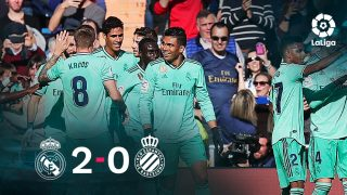 Real Madrid vs Espanyol: El Real Madrid ganó 2-0 al Espanyol.